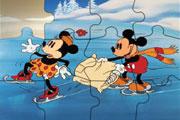 Sweet Mickey Mouse Jigsaw
