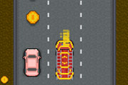 Traffic Rush : Retro Racing