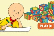 Caillou Spelling Game