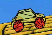 3D Orange Car