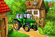 Farm Tractor Hidden Objects