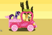 Little Pony Pink Truck