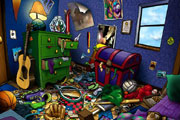 Messy Room Hidden Objects