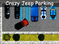 Crazy Jeep Parking