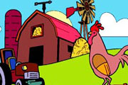 Cute Farm Coloring