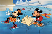 Sweet Mickey Mouse Jigsaw