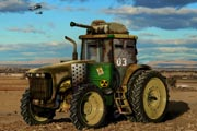 Army Tractor Hidden Numbers
