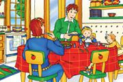 Caillou Hidden Numbers