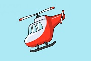 Helicopter Coloring