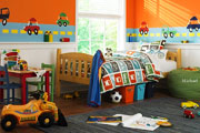 Kids` Rooms Hidden Objects