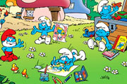 Sweet Smurfs Jigsaw