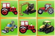 Sweet Tractors Matching Pairs