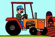 Tractor In The Farm